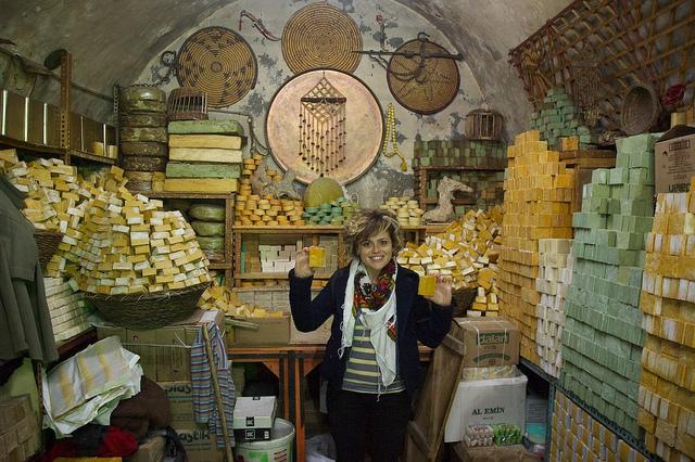 Mardin soap shop